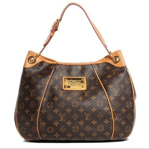Authentic Louis Vuitton Monogram Galliera Bag